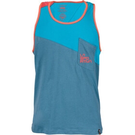La Sportiva M's Dude Tank Lake/Tropic Blue